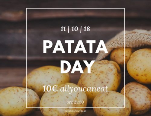Patata Day 11/10 > AllYouCanEat 10€