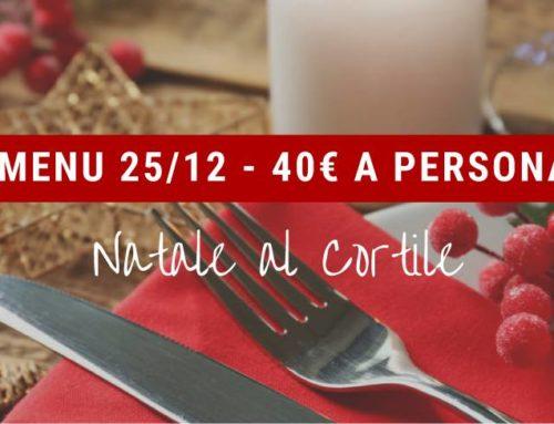 Natale al Cortile > 40€ a persona