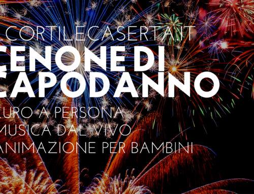 Cenone di Capodanno at Il Cortile > 80€