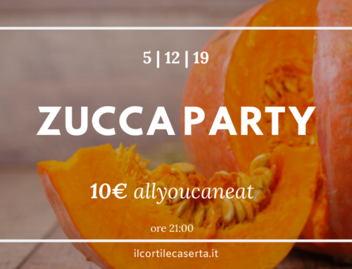 ZUCCA PARTY ➡ Giovedì 5 Dicembre 2019